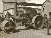 Steam roller 'Ready for Business'